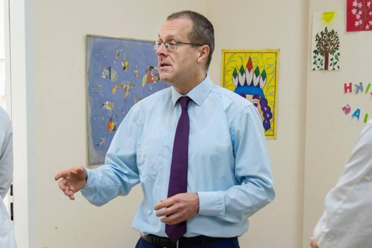 Hans Kluge, director dela Oficina Regional para Europa de la OMS.