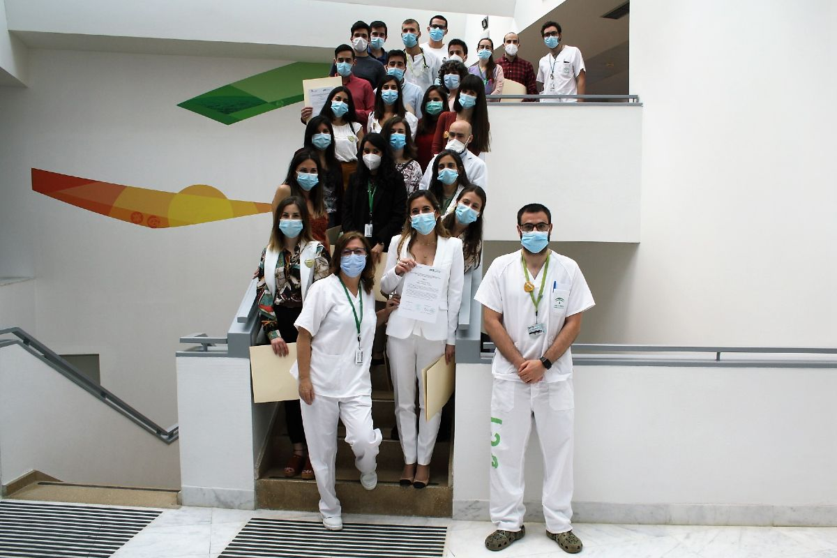 Despedida de los residentes del Hospital San Cecilio de Granada (Junta de Andalucía)