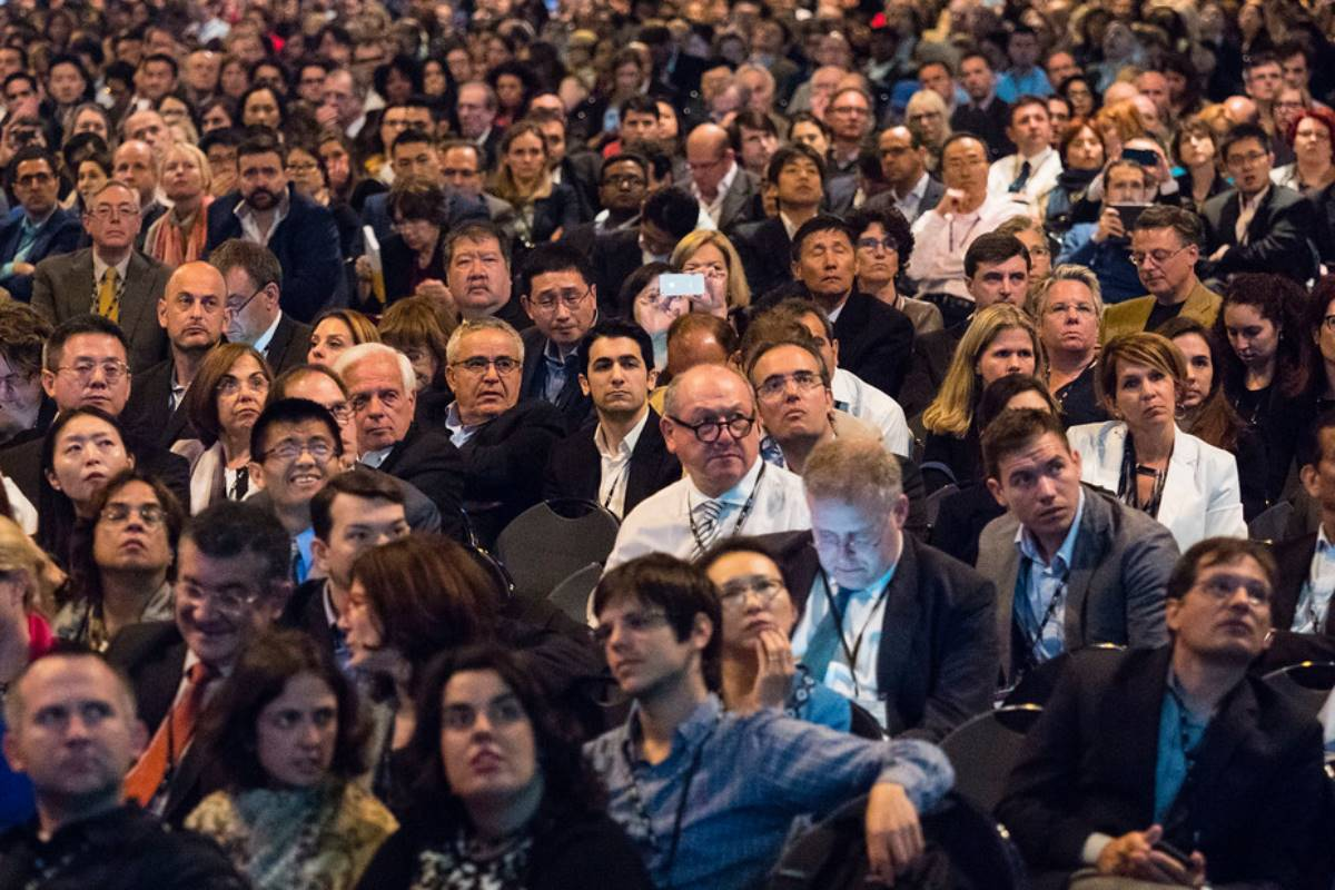 Imagen de asistentes al congreso ASCO de 2019