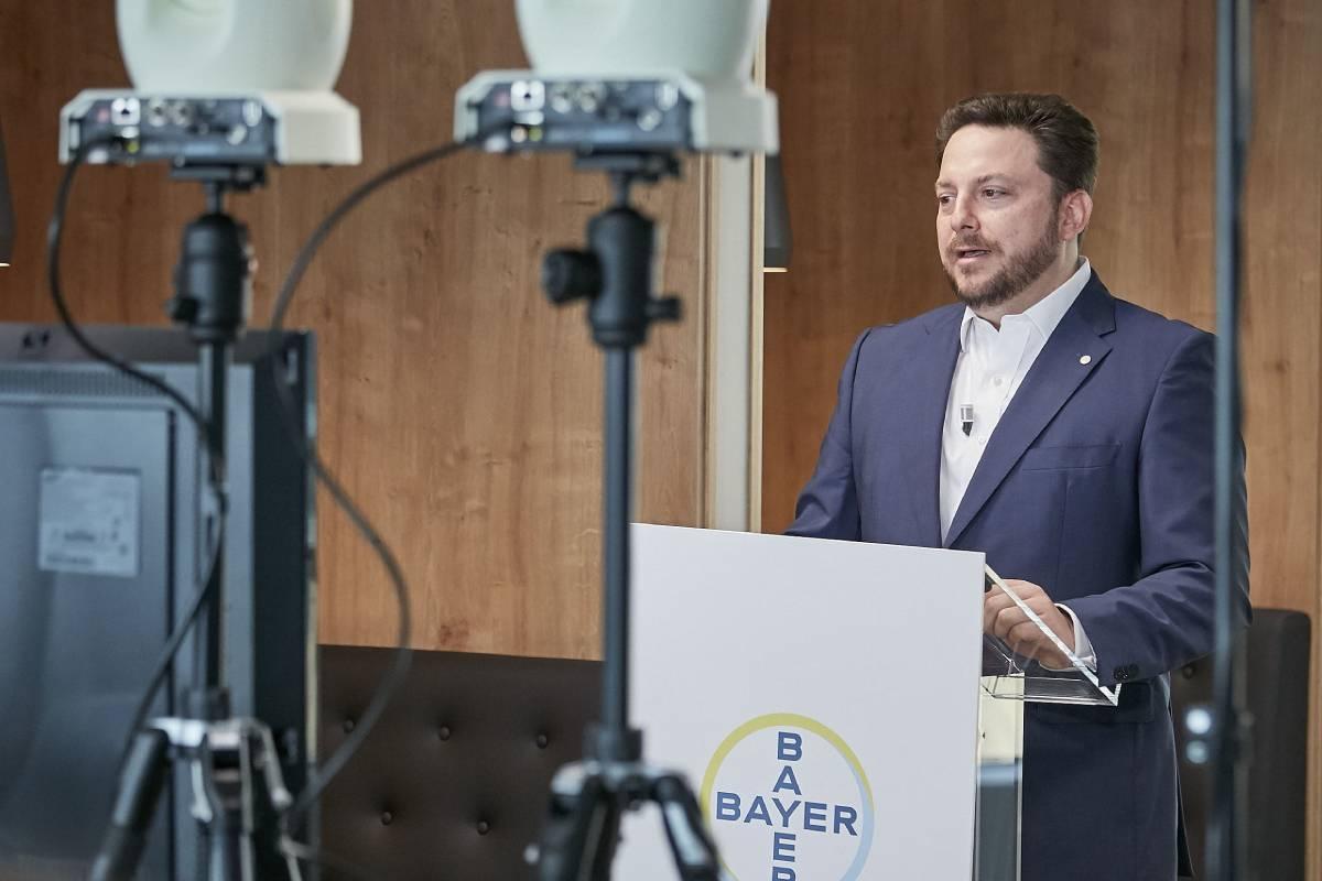 Bernardo Kanahuati, consejero delegado de Bayer en España y Portugal.