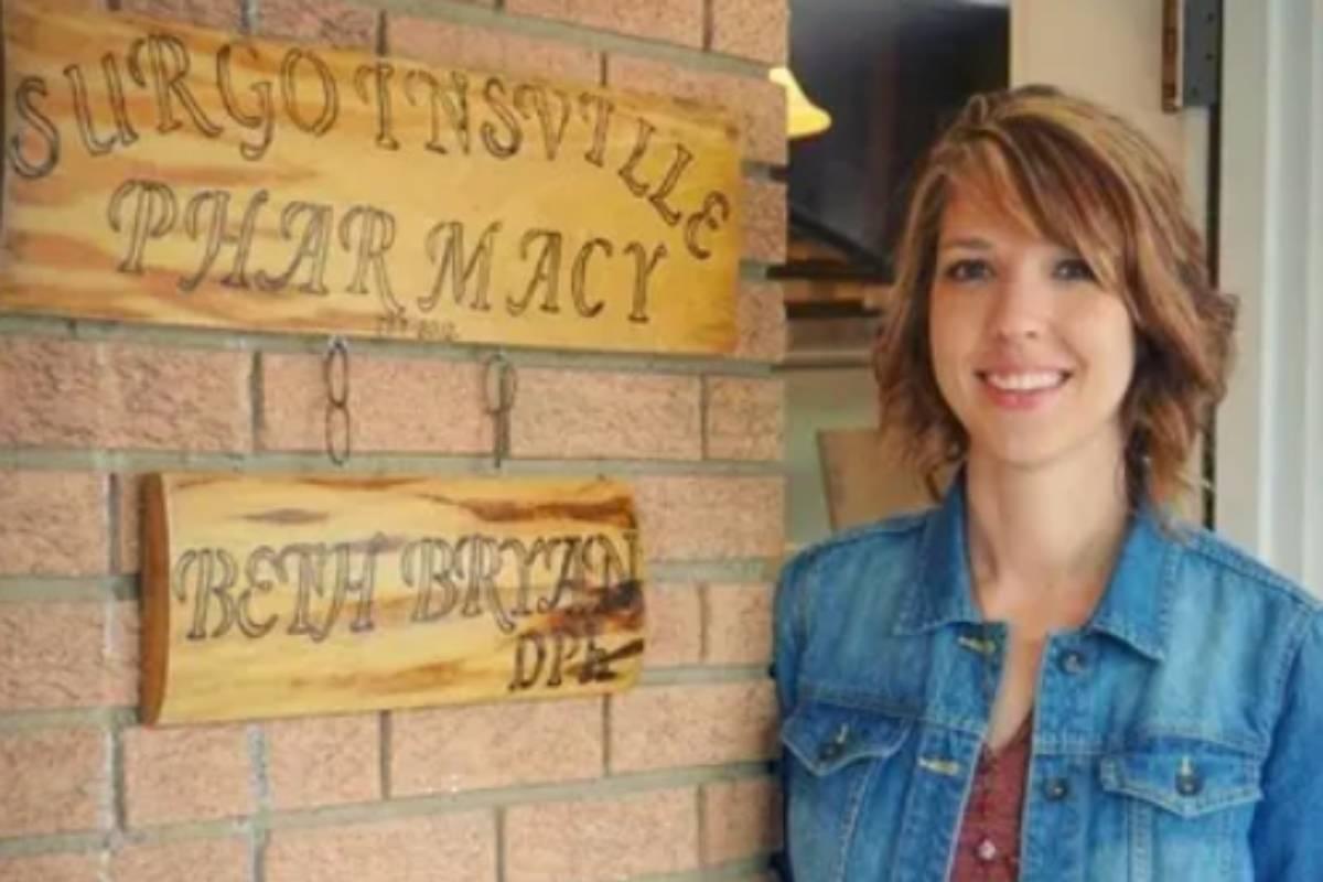 Beth Bryan, farmacéutica rural, en  Surgoinsville, un pueblo de Tennessee.