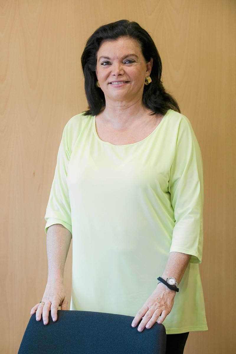 Carmen Peña, farmacéutica.