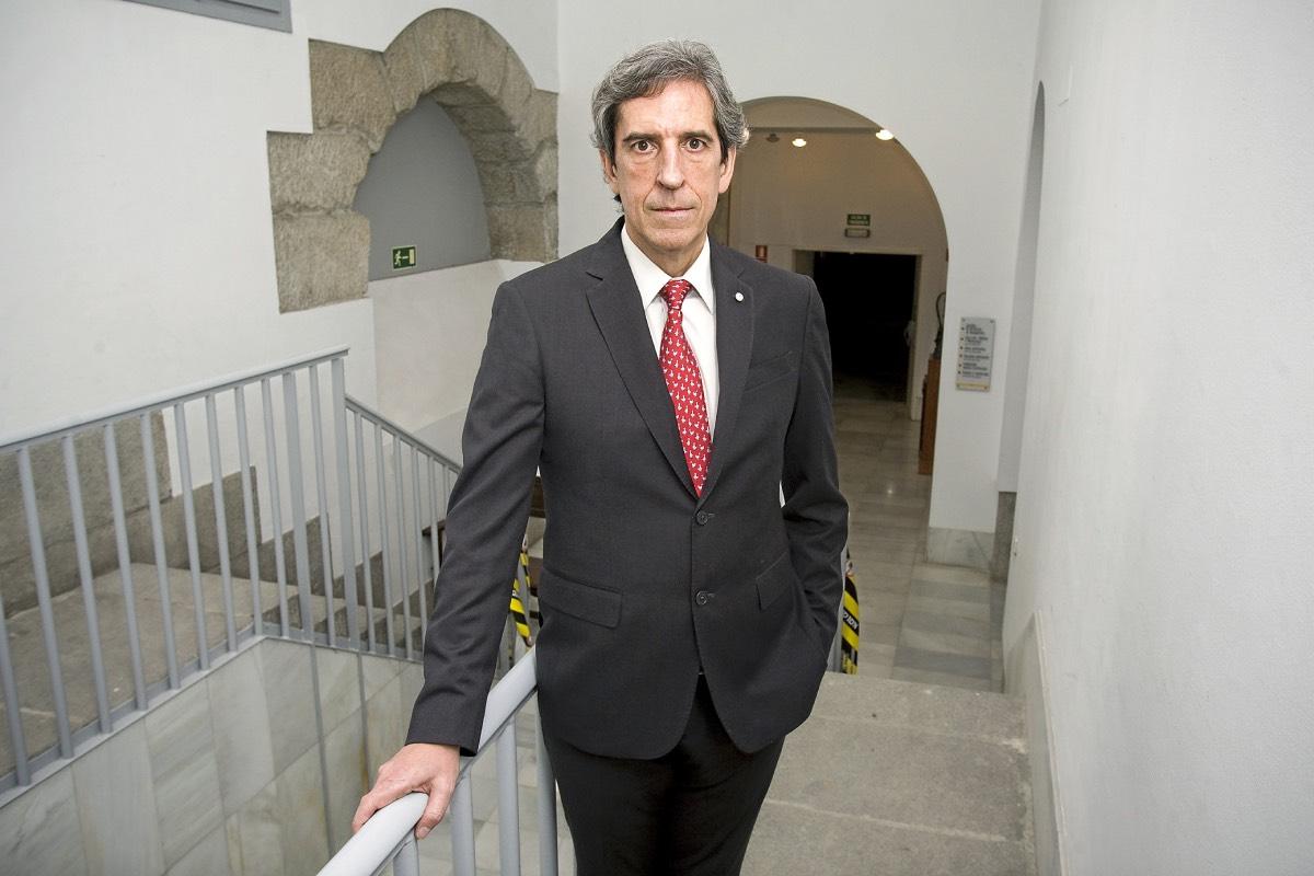 Miguel Ángel Sánchez Chillón, en una imagen de archivo en la sede del Colegio de Madrid (Foto: Lenda).