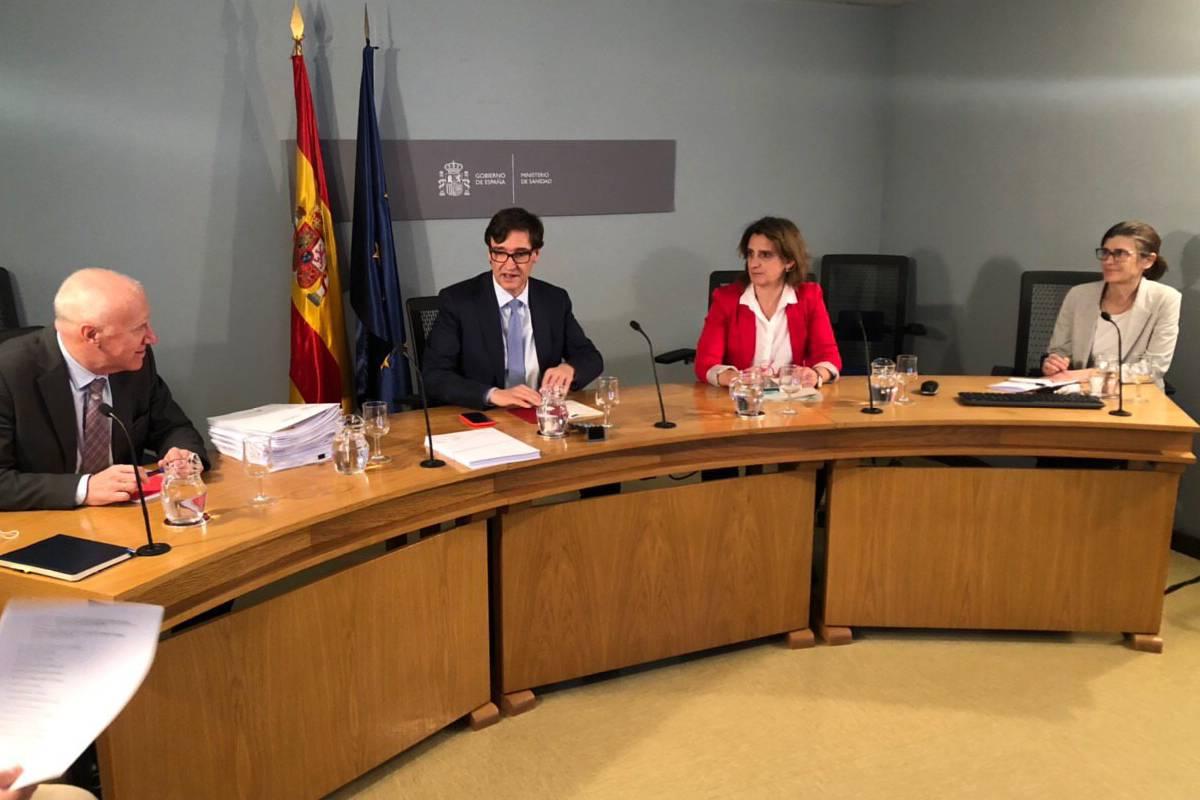 Consejo Interterritorial celebrado el 8 de mayo.