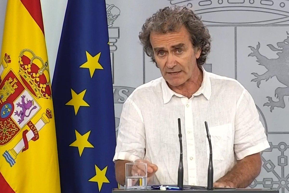 Fernando Simón, director del Centro de Coordinación de Alertas y Emergencias Sanitarias (CCAES) (EFE)