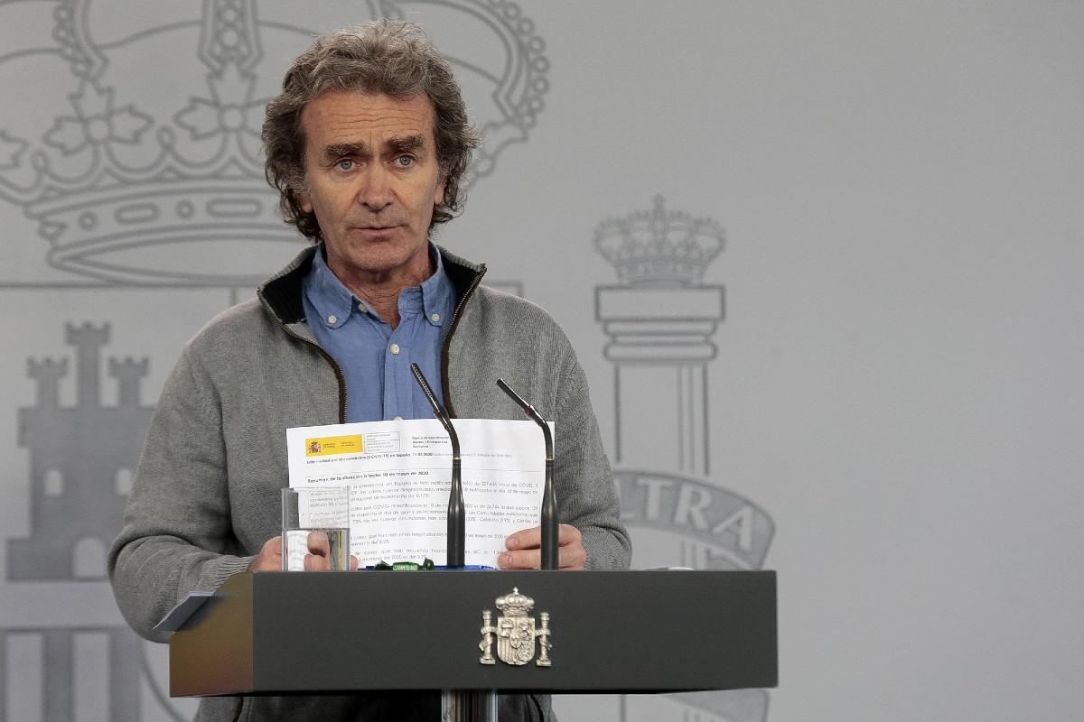 Fernando Simón, director del centro de coordinación de Alertas y Emergencias Sanitarias (Moncloa)