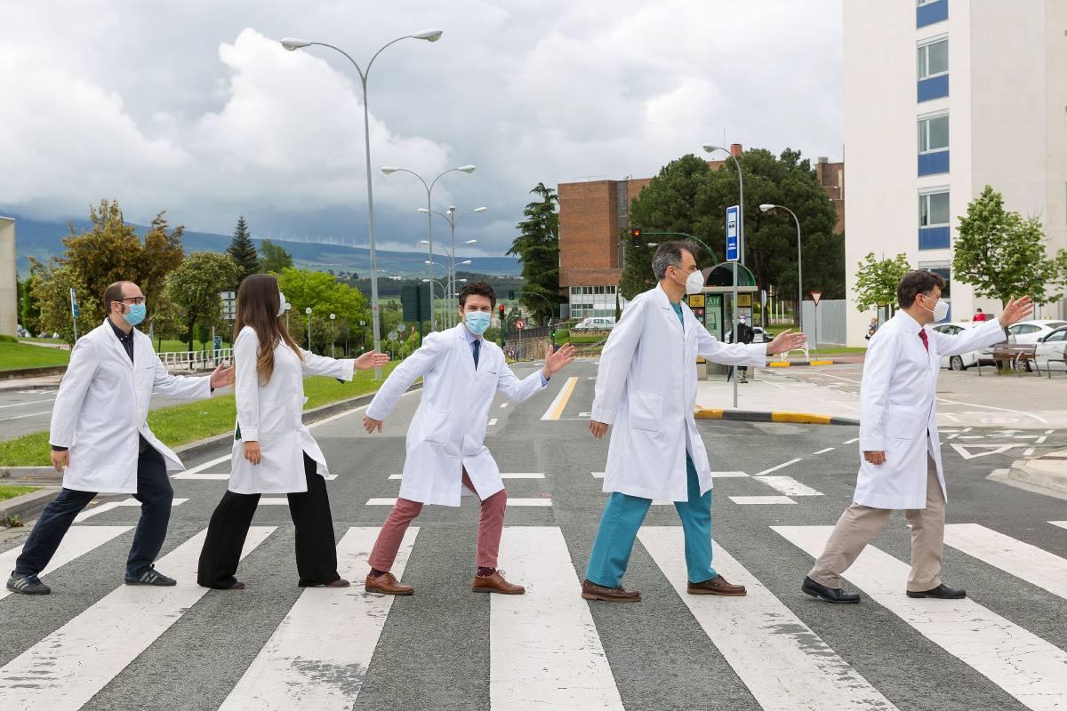 Grupo de investigadores de Melero