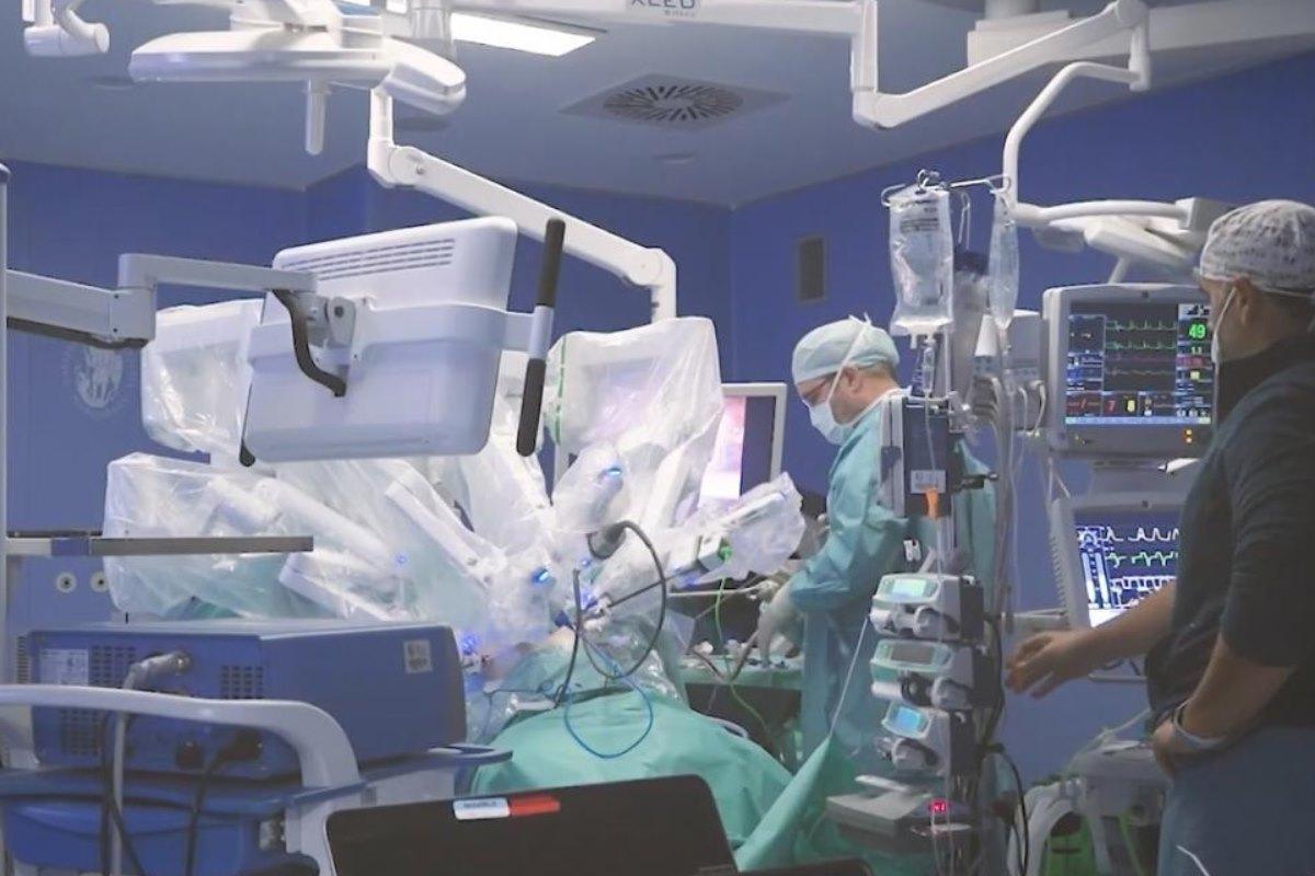 Operación de cáncer de próstata