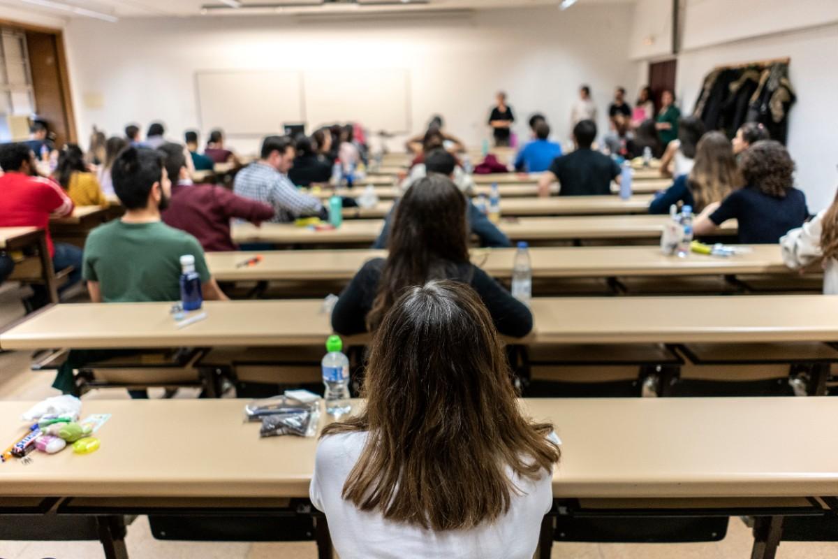 Aspirantes del MIR 2020, el día del examen (Olmo Calvo)