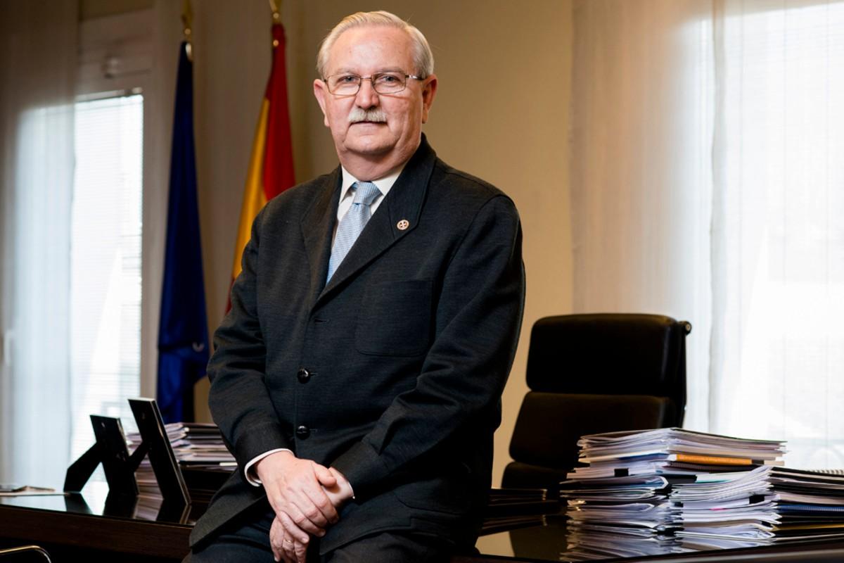 Serafín Romero, presidente del Consejo General de Colegios de Médicos.