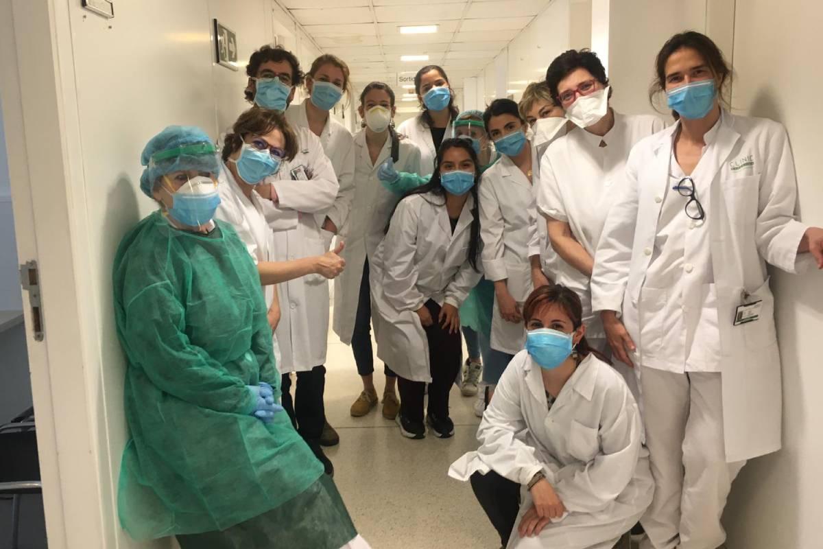 Un estudio serológico coordinado por ISGlobal y el Hospital Cl�nic de Barcelona revela que el 11,2% del personal sanitario que se sometió a los test en este centro hospitalario ha sido infectado por el nuevo coronavirus SARS-CoV-2.