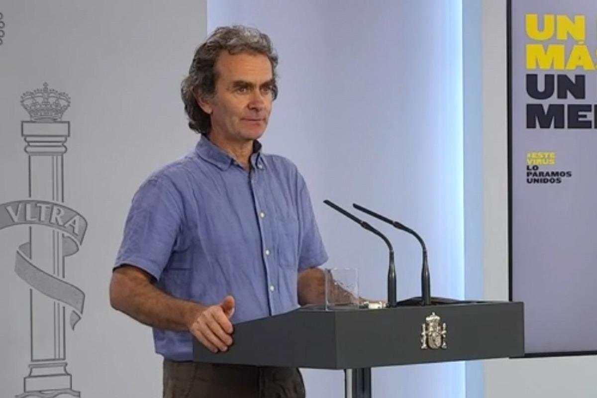 Fernando Simón, director del Centro de Alertas y Emergencias Sanitarias del Ministerio de Sanidad.