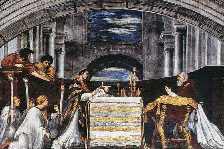 prodigiosina misa de Bolsena