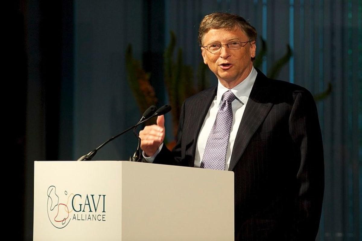 El filántropo Bill Gates
