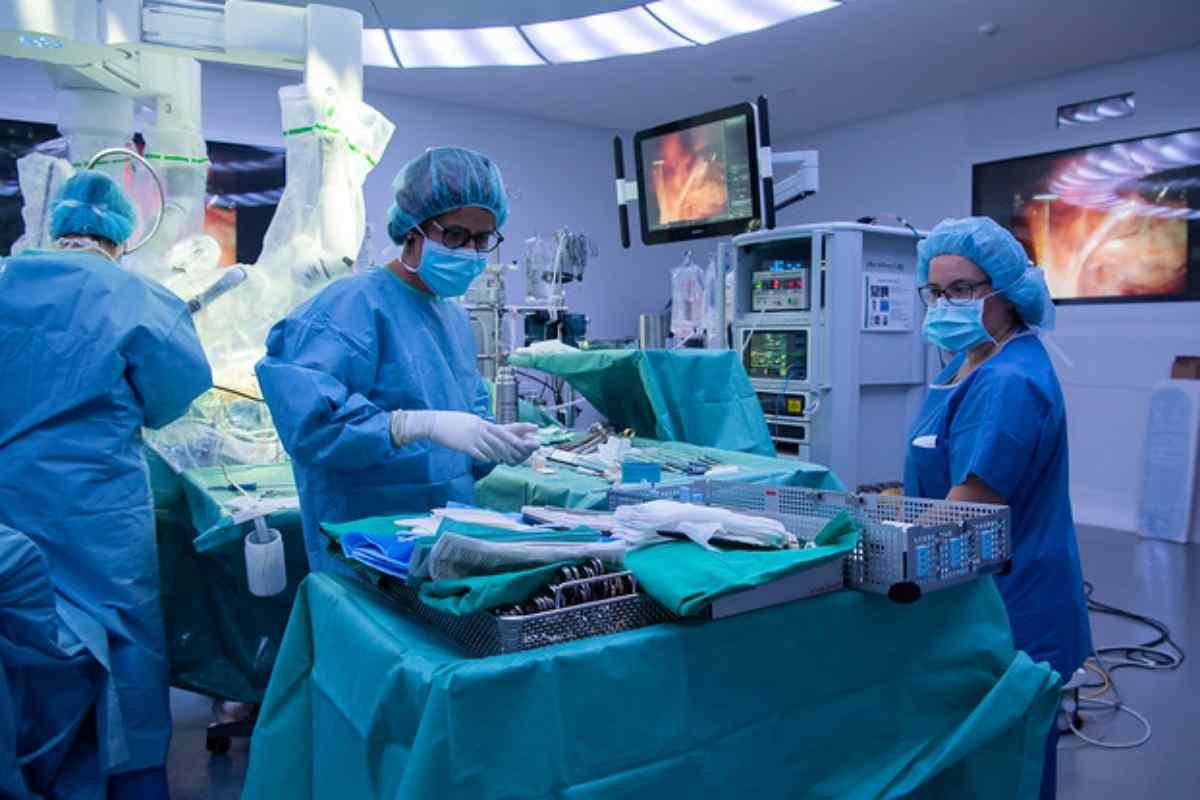 Da Vinci en el Hospital Clínic de Barcelona.