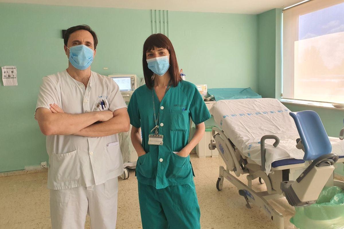 Profesionales del Hospital 12 de Octubre, de Madrid.