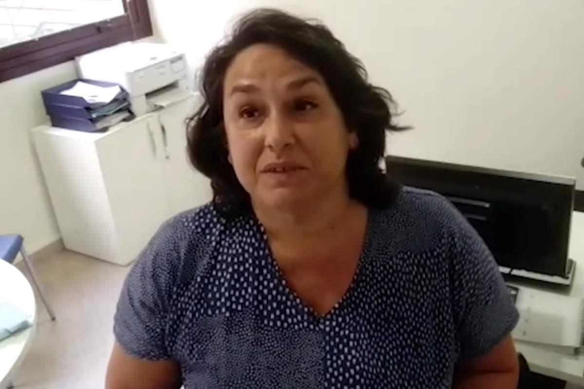 Elena Valverde, farmacéutica en OSI Bidasoa, Guipuzcoa