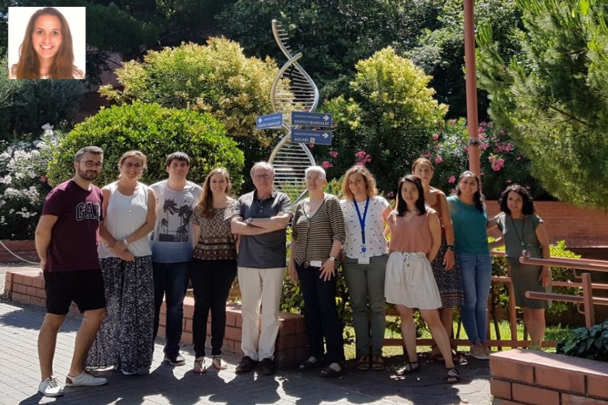El equipo de Virus Entéricos de la Universidad de Barcelona.