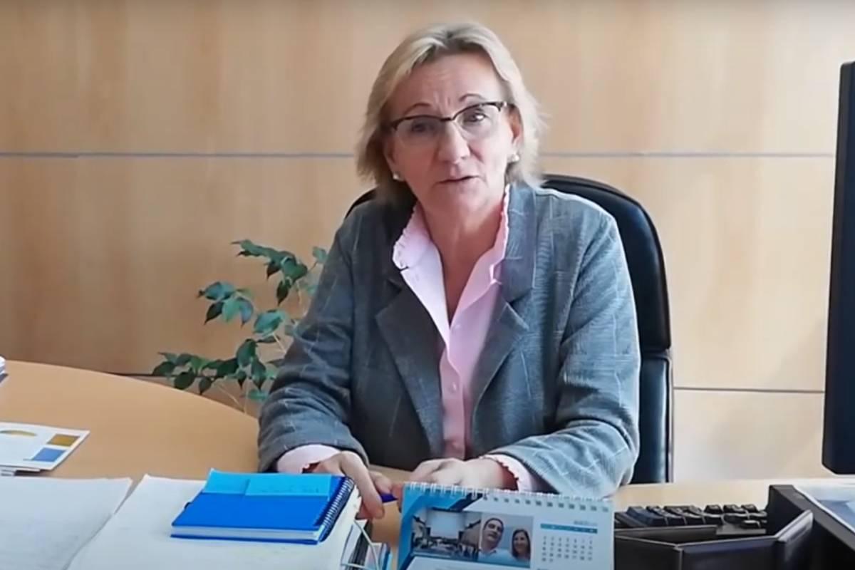 Lourdes Martínez, gerente de cuidados de la Comunidad de Madrid