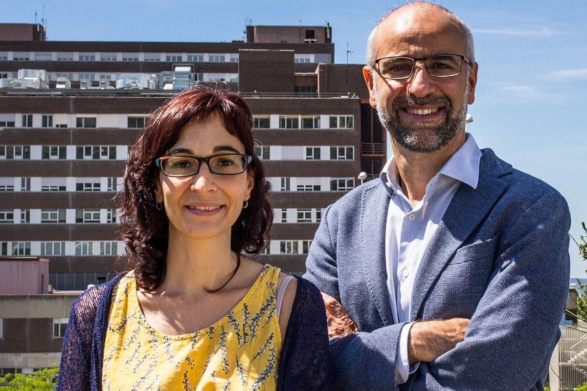 Mª Carmen Puertas y Javier Martínez-Picado, del IrsiCaixa.