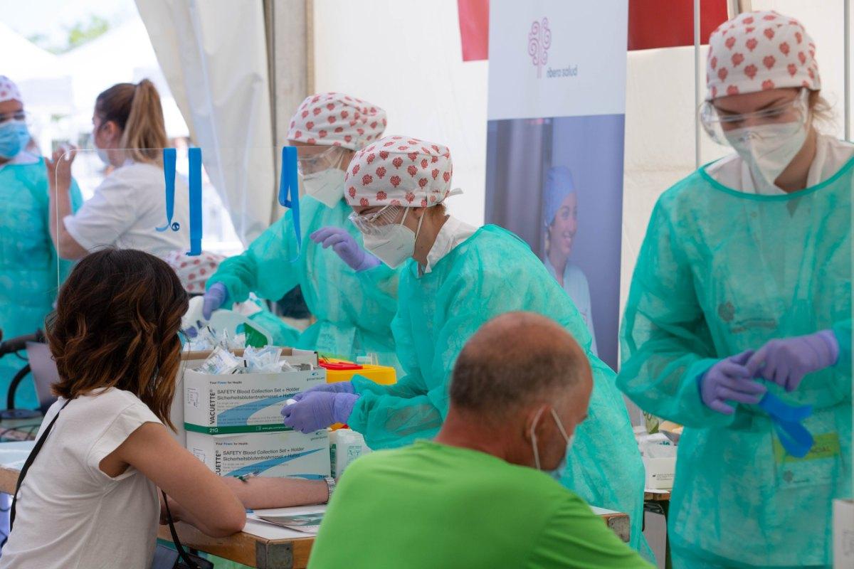 Estudio de seroprevalencia en Torrejón