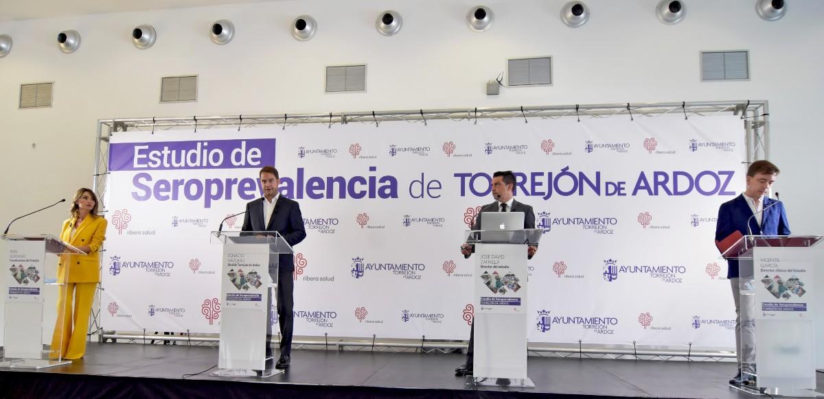 Presentación del estudio de seroprevalencia de Torrejón