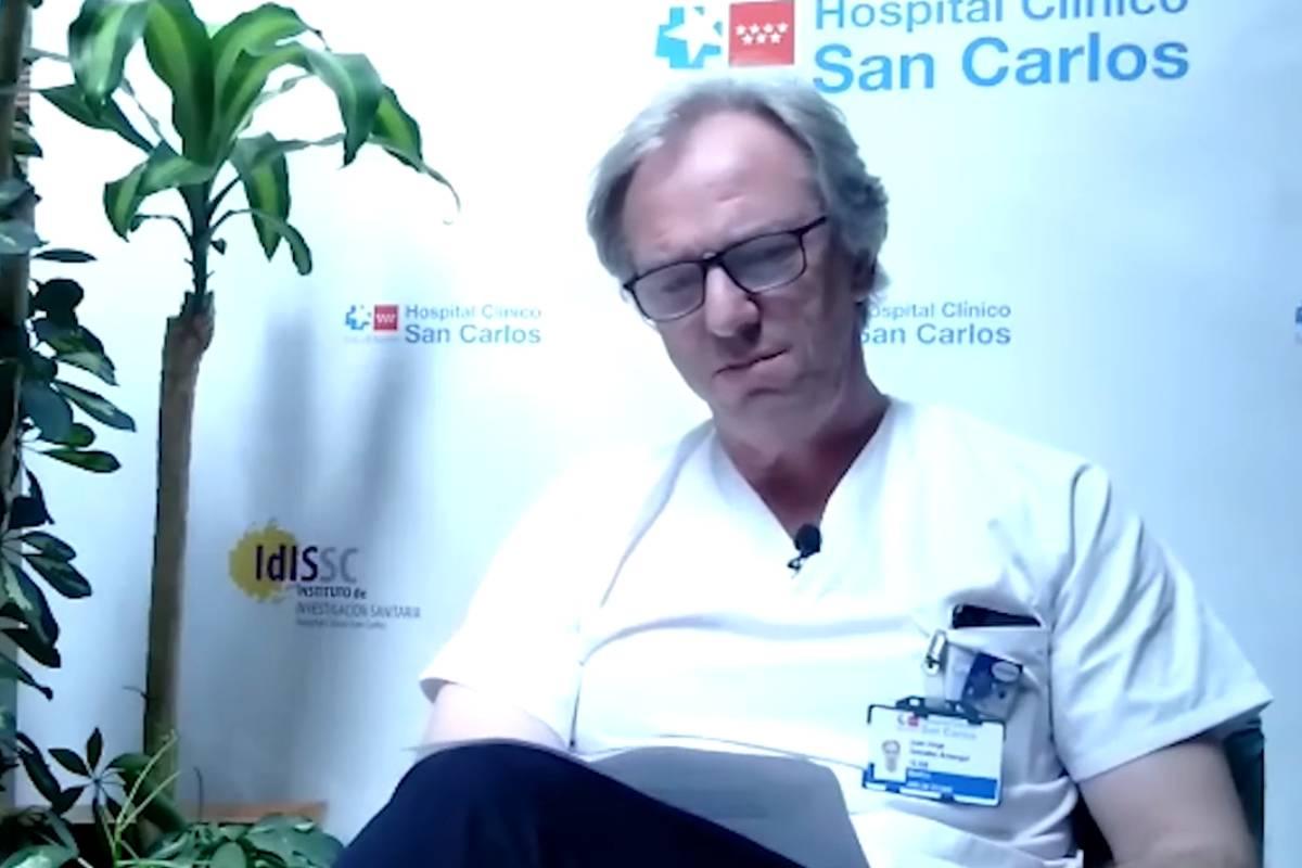 Juan Gonzalez Armengol, jefe de unidad de urgencias Hospital Clínico San Carlos,