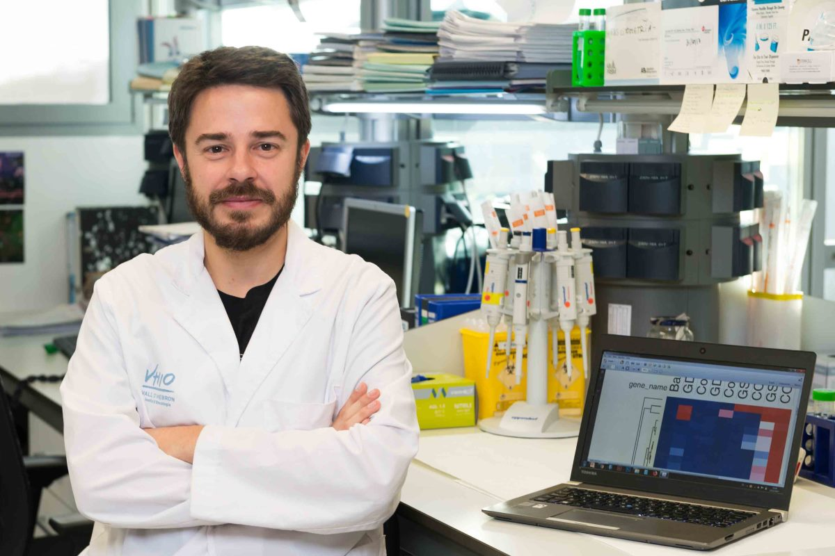 César Serrano, oncólogo médico del Hospital Universitario Vall d'Hebron y jefe del Grupo de Investigación Traslacional en Sarcomas del Vall d'Hebron Instituto de Oncología (VHIO)