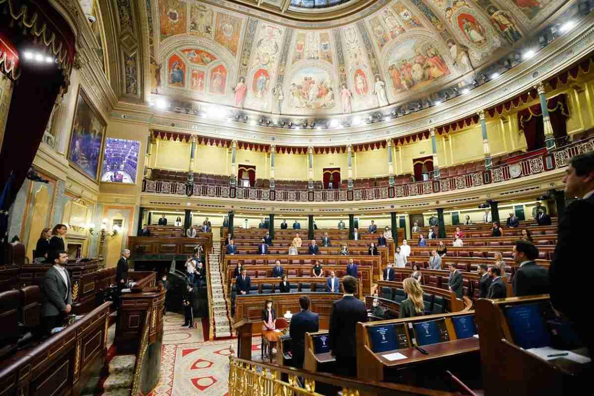 Sesión Plenaria en el Congreso de los Diputados.