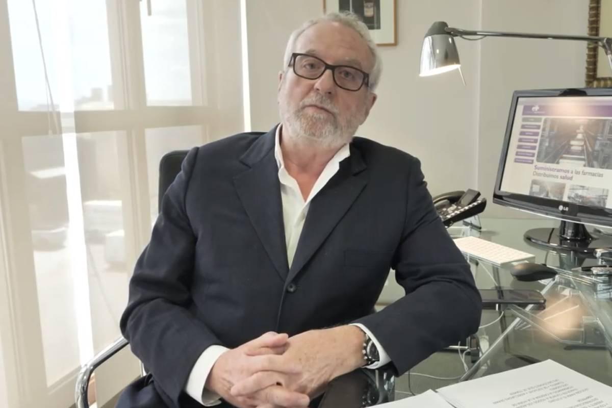 Eladio González, presidente de Fedifar,