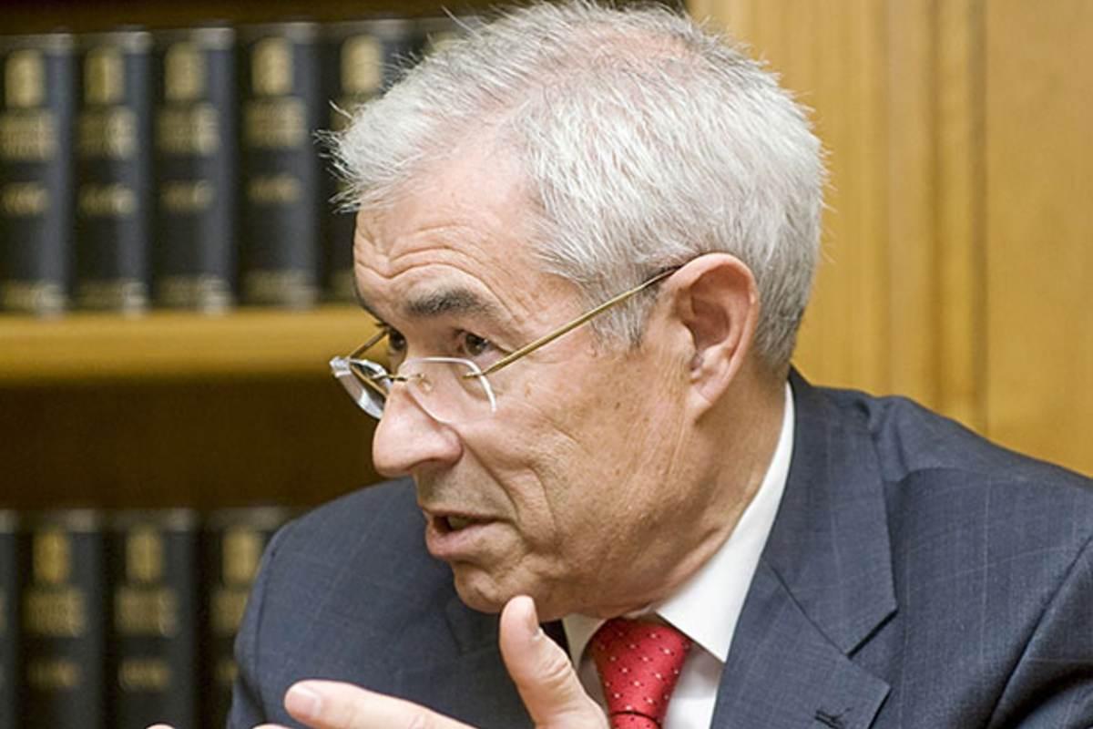 Emilio Bouza, ex jefe de servicio de Microbiología y Enfermedades Infecciosas del Hospital Gregorio Marañón.