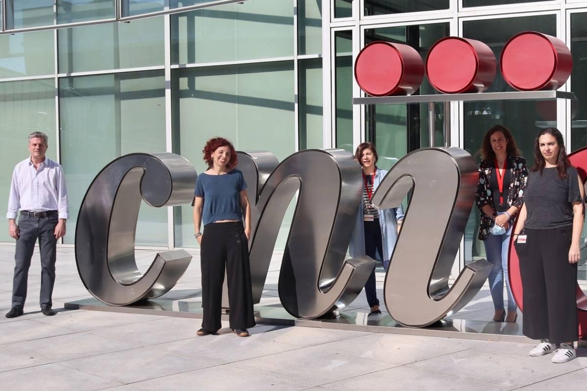 Miguel Torres, Irene Delgado Carceller, Giovanna Giovinazzo, Fátima Sánchez Cabo y Vanessa Carolina Cadenas Rodríguez.