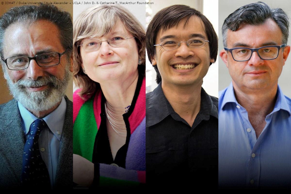 Yves Meyer, Ingrid Daubechies, Terence Tao y Emmanuel Candès.