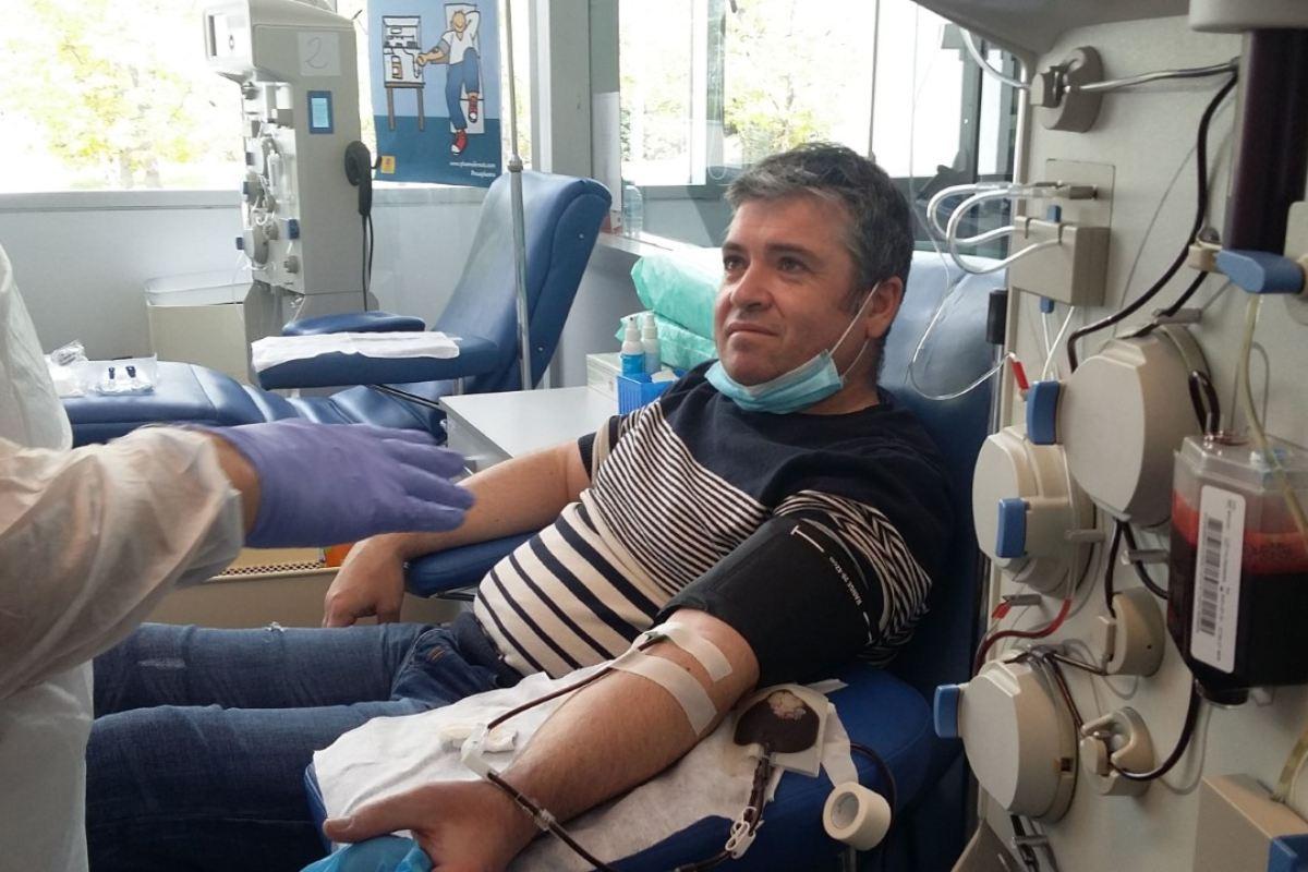 Las donaciones para plasma hiperinmune se ensayan en Covid.
