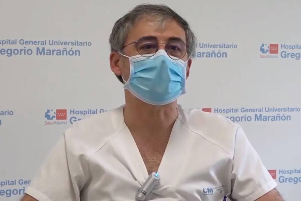 José Antonio Sevillano, médico del Servicio de Urgencias del Hospital Gregorio Marañón, de Madrid