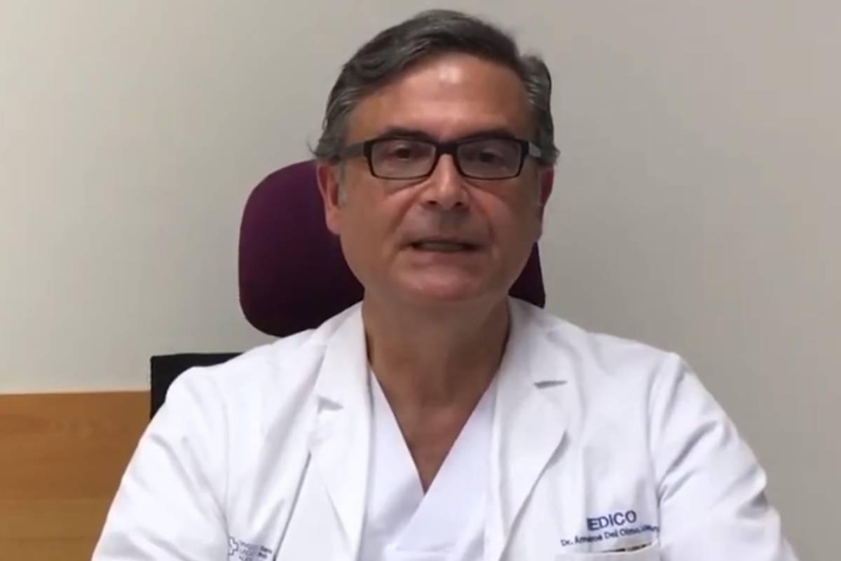 Lorenzo Armenteros, Médico de Familia del Servicio Gallego de Salud (Lugo) y portavoz COVID-19 SEMG
