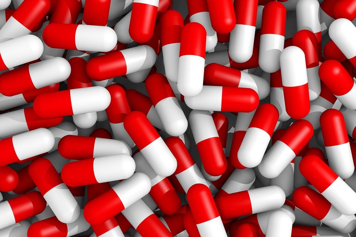 Montón de pastillas