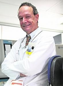 José Mar�a Moraleda, jefe de Hematolog�a y Terapia Celular del Hospital Virgen de la Arrixaca.