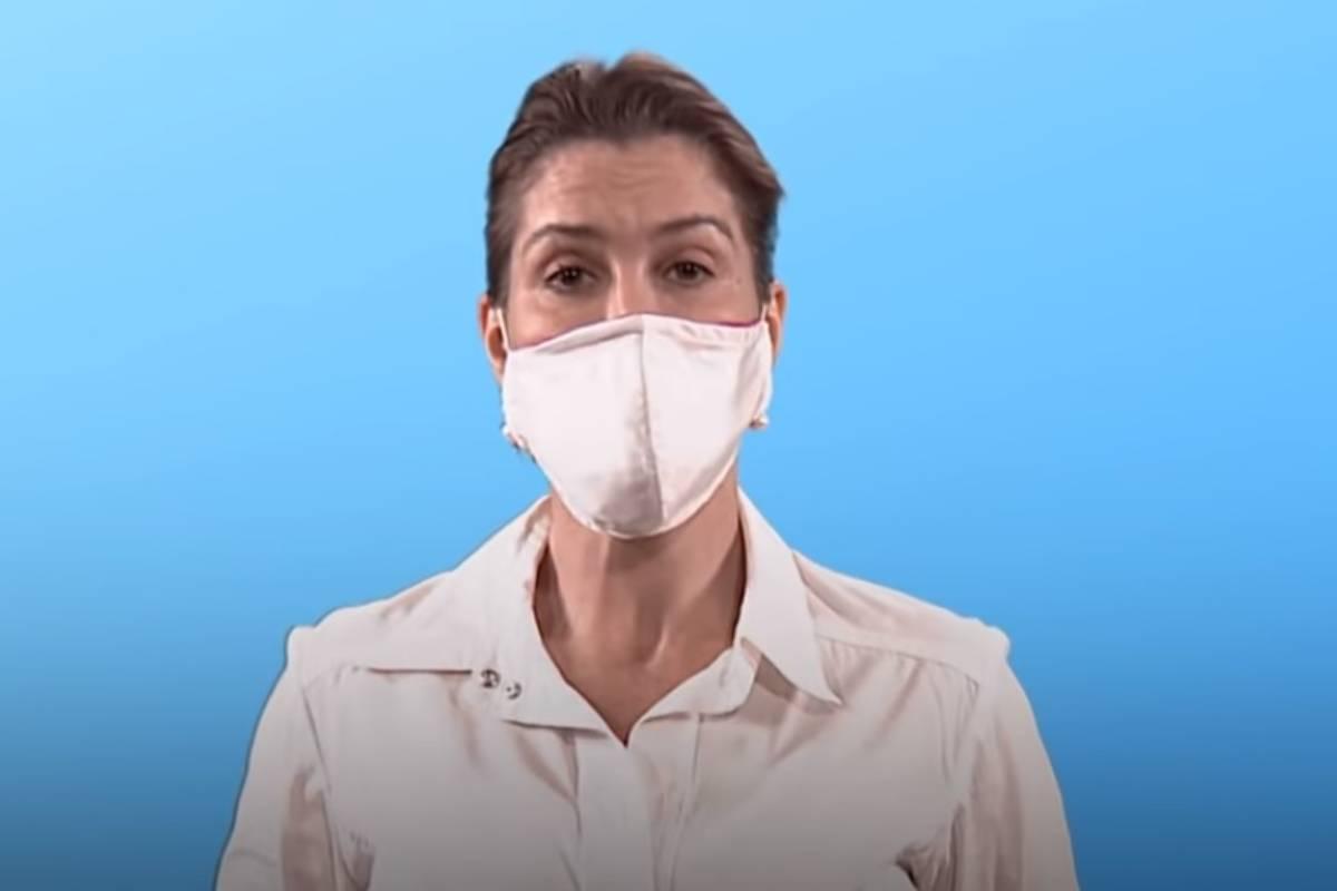 April Baller, responsable de la OMS en control y prevención de infecciones.