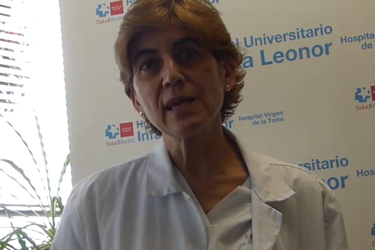 Rosalía de Dios Álvarez, jefa de Rehabilitación del Hospital Universitario Infanta Leonor, de Madrid.