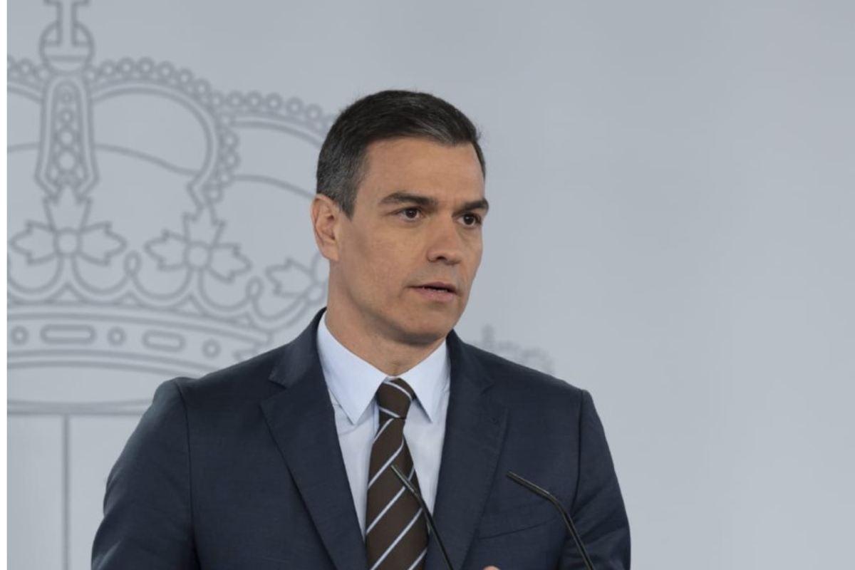 Pedro Sánchez, persidente del Gobierno de España.