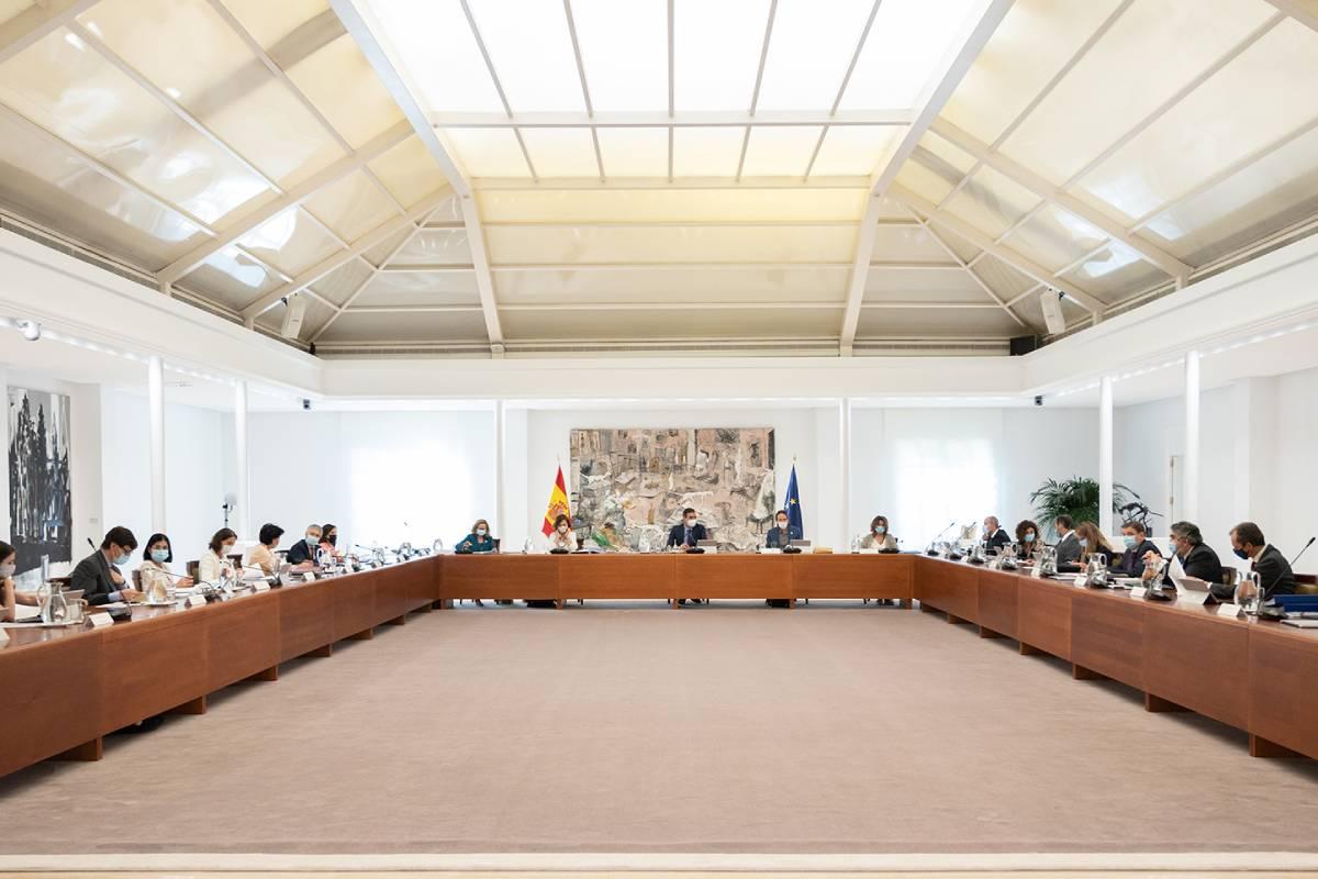 Consejo de Ministros 28-07-2020
