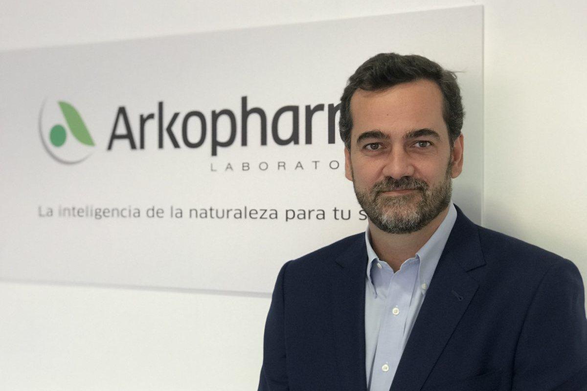 Baldomero Falcones, nuevo director general de Arkopharma España.