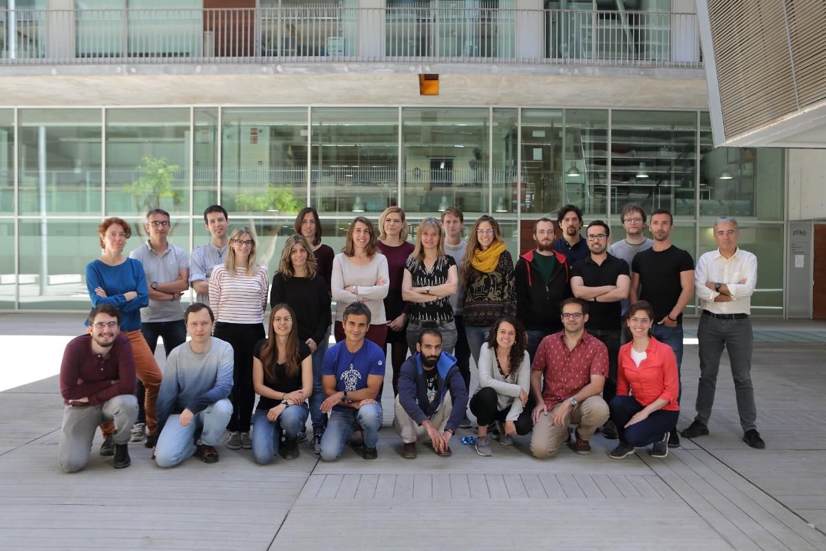 Equipo del Centro de Regulación Genómica de Barcelona.