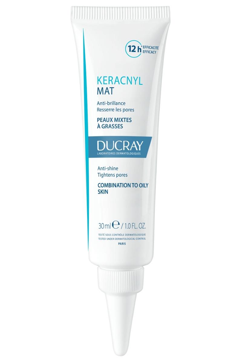 'Keracnyl Mat' es el nuevo producto de Ducray frente a los brillos de la piel grasa.