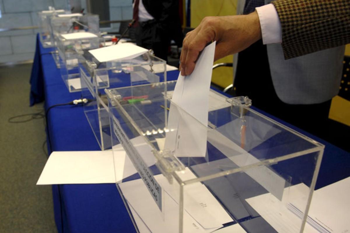Imagen de archivo de unas elecciones.