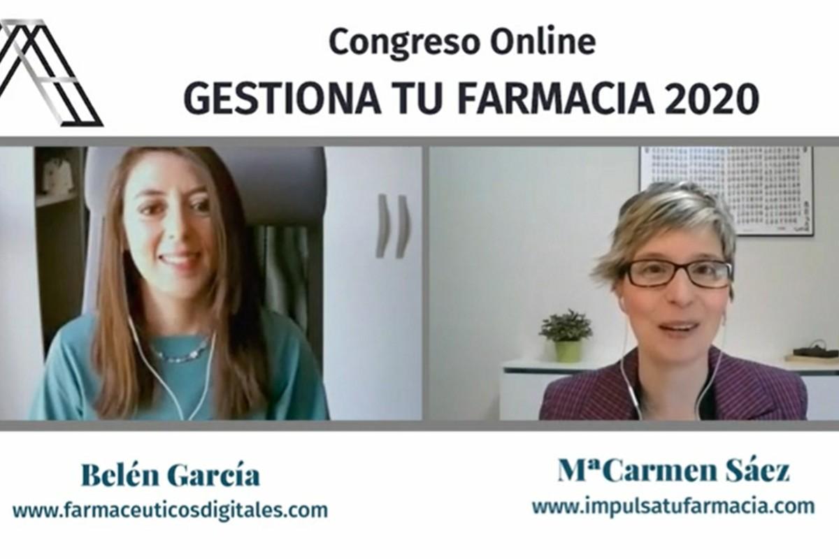 Belén García y Mª Carmen Sáez