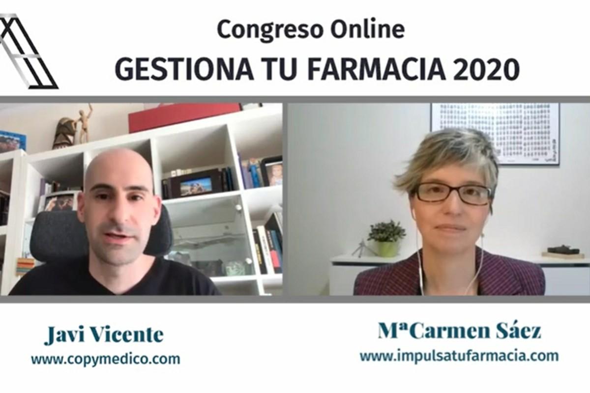 Javi Vicente y Mª Carmen Sáez