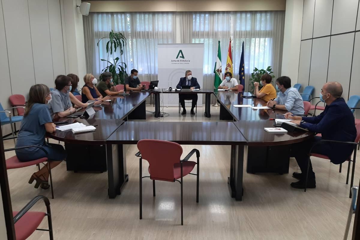 Grupo de expertos para el Plan Estratégico Contra el Cáncer de Andaluc�a 2021-25.