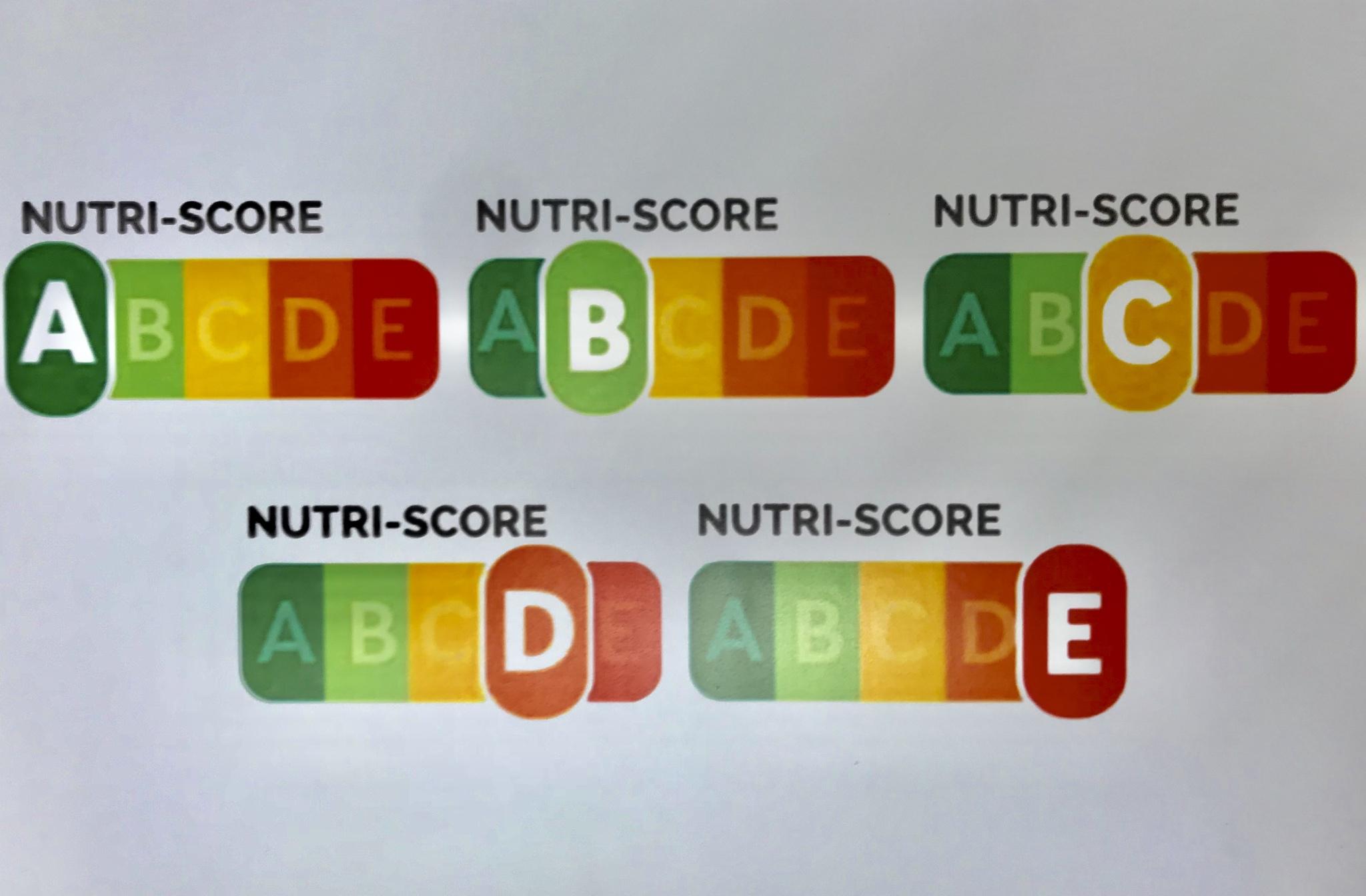 Modelo de etiquetado de NutriScore